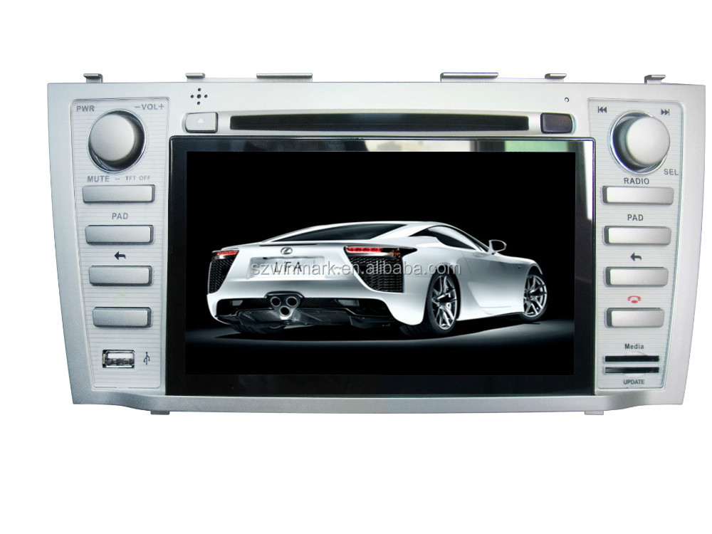 Android 4.0.4 capacitiva touch screen car multimedia player para Toyota Camry DM7851C com destacável tablet