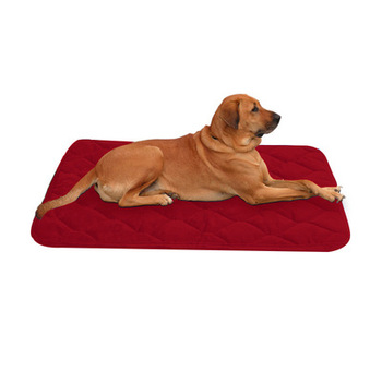 Dog Bed Large Crate Pad Mat Soft Mattress Anti-Slip 100% Machine Washable Kennel Mats Luxury Color