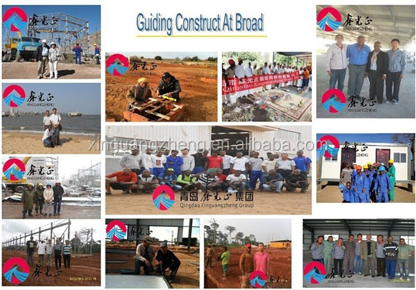 pre construction multi floor steel building