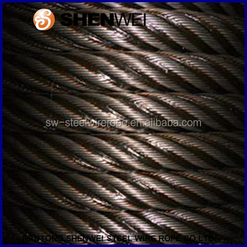 6*19s+iwrc Steel Towing Wire Rope,Lifting Steel Cable Capacity ...