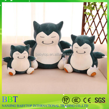 wholesale 150 cm pokemon plush snorlax doll bed