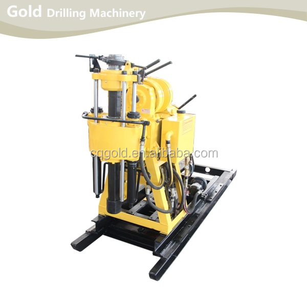 130m Depth High Speed Core Drilling Rig
