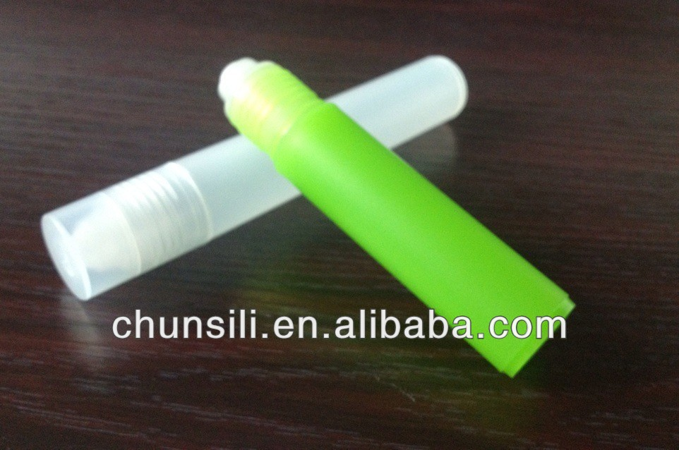 Factory plastic 15ml sample perfume roll on vial injection vials plastic vials
