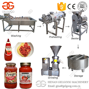 2017 Industrial Factory Tomato Paste Machine Tomato Paste Processing Line For Dubai