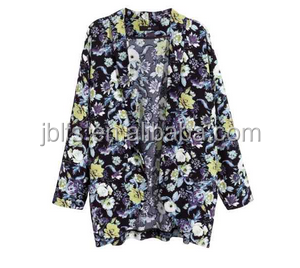 2014 wholesale custom made women wear floral pattern printing suit