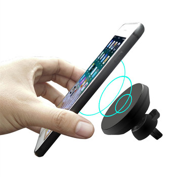 New Patent Products Air Vent Car Charger Holder 10W Fast Qi Magnetic Wireless Car Charger for Samsung Note 9
