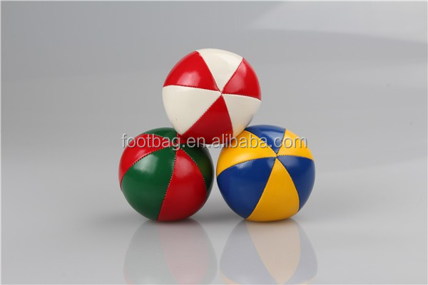 soft leather juggling ball,soft juggling ball for children,