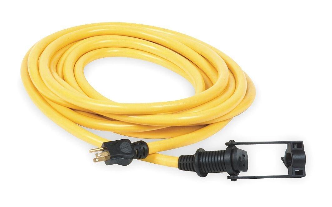 Power First 1XUT7 Extension Cord, E-Zee Lock(TM), 50Ft, 10/3