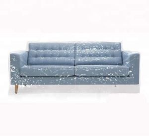 Sofa Slipcover Protector Cat Claw Proof Water Resistant Heavy Duty Plastic Sofa Cover PVC