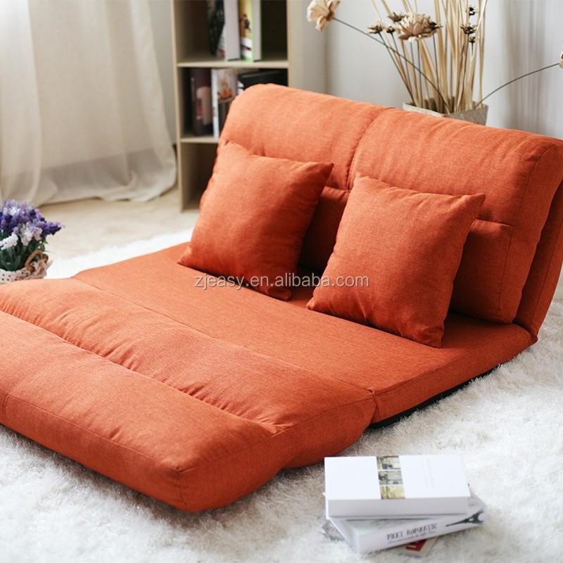 Estilo coreano tejido plegado esponja sof suelo con 5 - Tejidos para sofas ...
