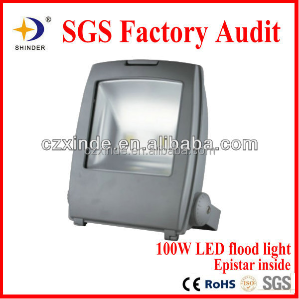 Outdoor LED projector solar led flood light 100w chinese manufacturer