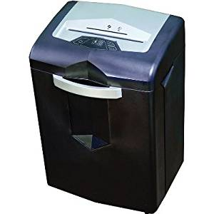 "HSM of America 1052 Shredder - HSM Shredstar PS825S Strip Cut Shredder (Level 2) (Sheet Capacity: 25) (Shred Size: 1/4"") (Throat: 9"") (Waste Capacity: 7.1 Gal) (Motor: 200W) (Power: 115V/60Hz) (Accepts DVD CD Credit Cards)"