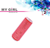 MY GIRL easy roll velcro hair roller with aluminium layer
