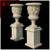 large marble carved outdoor garden decoration flower pots