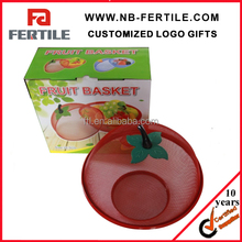 NSY 102877 fruit basket with net cover/fruit basket