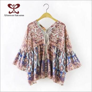 2017 New Designs Blouse Women Shirt Model d0a5a4b5bed7