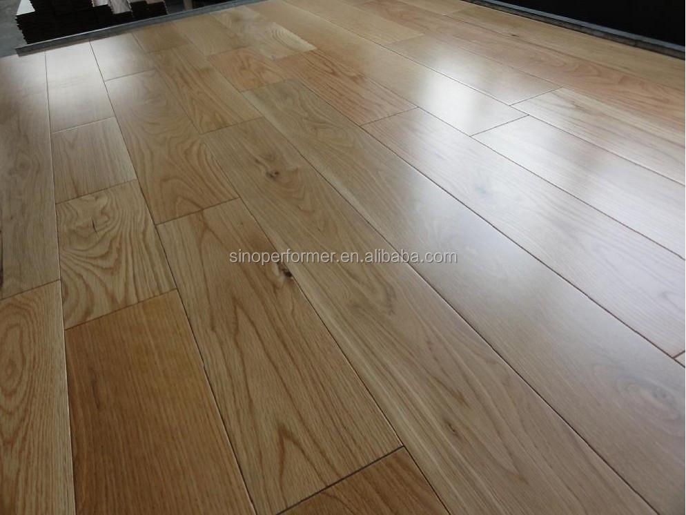 Natuurlijke massief eiken houten parket vloeren voor woonkamer