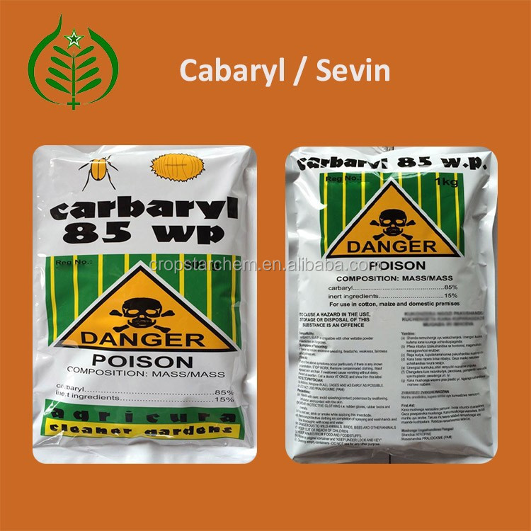 Good Price of Powder State Pesticide Carbaryl Insecticide Sevin 85%WP, 50 WP, 98 TC in insecticides (CAS 63-25-2)