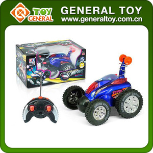 6CH RC Stunt Toy Car 360 Degrees Flip RC Stunt Car