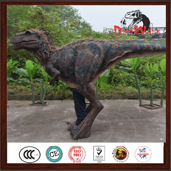 Good Quality Realistic Dinosaur Costume Raptor With Best And Low Price