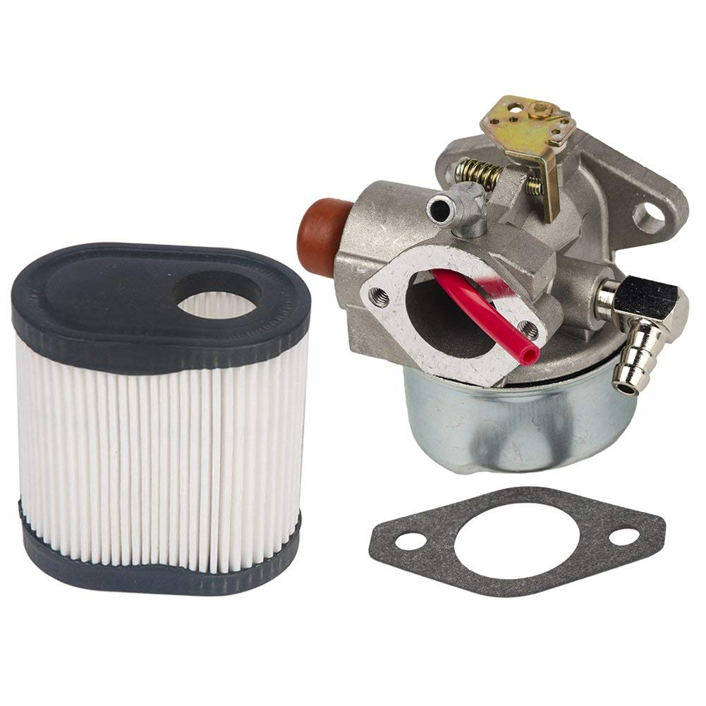 HIFROM Replace Carburetor Carb with Gasket and Air Filter 36905 for Tecumseh 640338 640274 For OVRM120 Engine Carb
