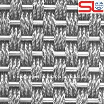 Slzsw-33 Woven Metal Fabric,Architectural Decorative Wire Mesh ...