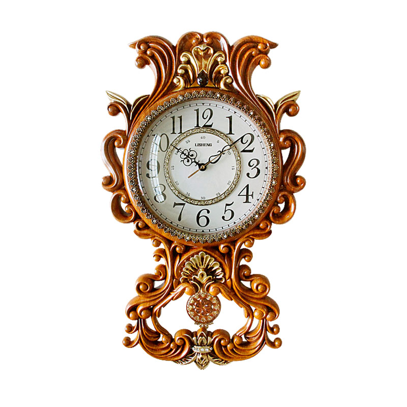 Decorative antique pendulum wall clock design in China B8181-11