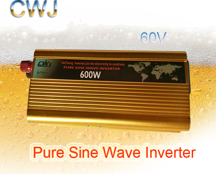 60V Normal Specification and Home APPlication 600W solar panel inverter