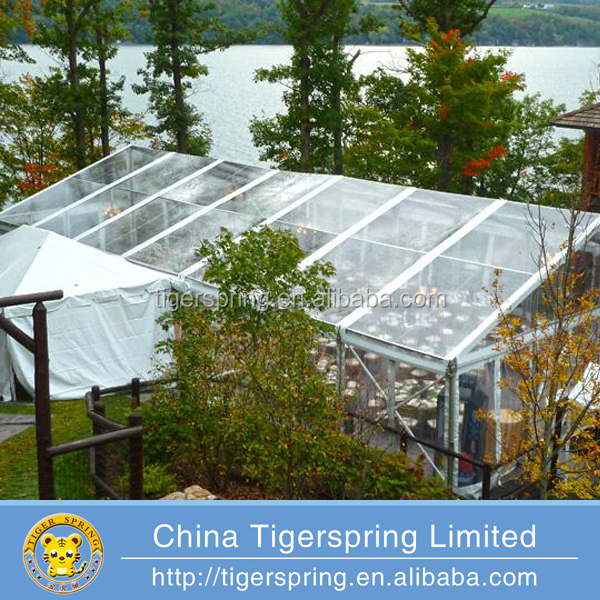 Heavy duty aluminum frame multipurpose used clear span tent
