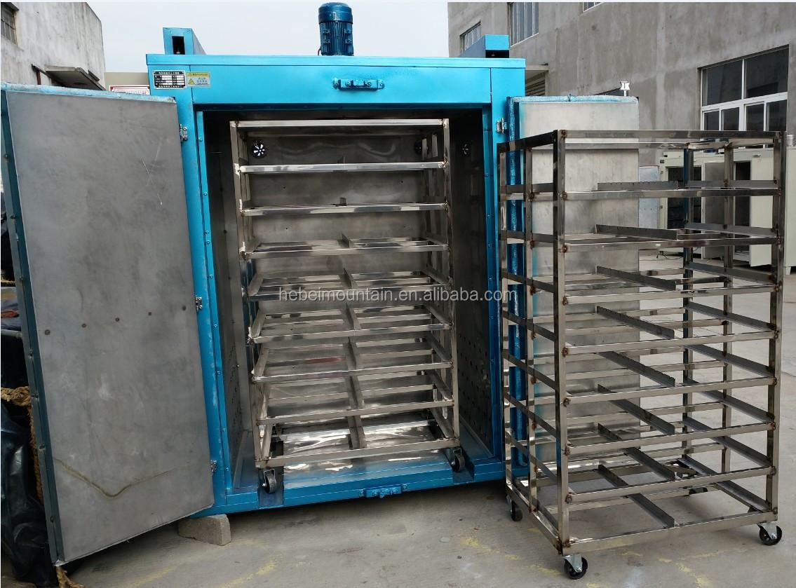 4000L Hot air lichte industrie zware industrie lade Droogoven voor thee blad voedsel ui tomaat pinda lade drogen