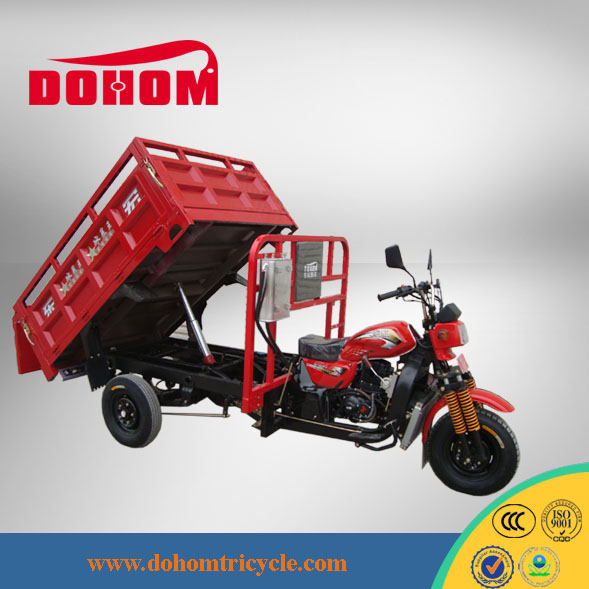 China Manufacture 250cc Engine Used Man Diesel Tipper Truck