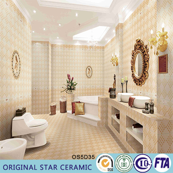 3d Inkjet Comfort Room Tiles Buy Floor Design