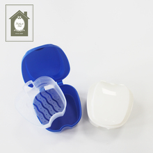Benutzerdefinierte Persönliche Dental Retainer Container Dental Care Travel Kit <span class=keywords><strong>Prothese</strong></span> Fall Box Leicht Zu Öffnen Reise <span class=keywords><strong>Prothese</strong></span> Lagerung Mundpflege