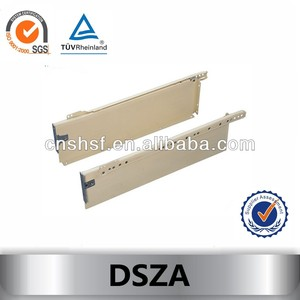 DSZA Drawer Sliders with integral Runners
