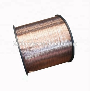 Plastic Spool Packing 18kg Copper Coated Welding Wires for Coil Nails