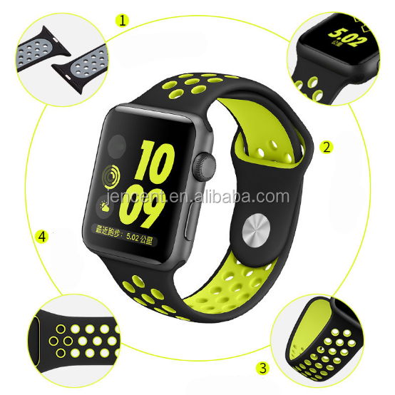 2020 Hot sale Smart Silicone quick release watch band, strap watch band for silicone apple watch band 44mm 42 mm 40mm 38mm