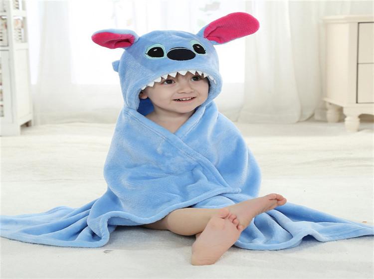 Mit Kapuze Häkeln Tierkopf Plüsch Babydecke Buy Tierkopf Plüsch