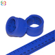 Promotional silicone rubber slap wristband ruler silicone folding ruler