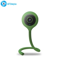 Lollipop shape 720P wifi Night Vision lullaby baby care monitor with temperature and humidity sensor flexible baby Camera ip cam