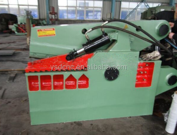 YSDCNC crocodile hydraulic shearing machine,Q43 series alligator <strong>scrap</strong> metal cutting machine, waste <strong>scrap</strong> sheet shears