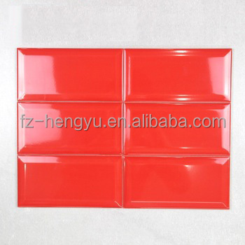 Ceramic 100x200mm Metro Red Kitchen Gloss Wall Tiles - Buy Kitchen Wall  Tile,Gloss Tile,Red Tiles Product on Alibaba.com