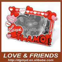 soft PVC funny photo frame
