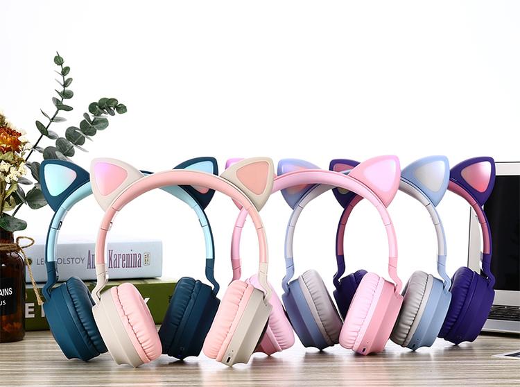 Fingertime 100% Original led bluetooth stereo headset
