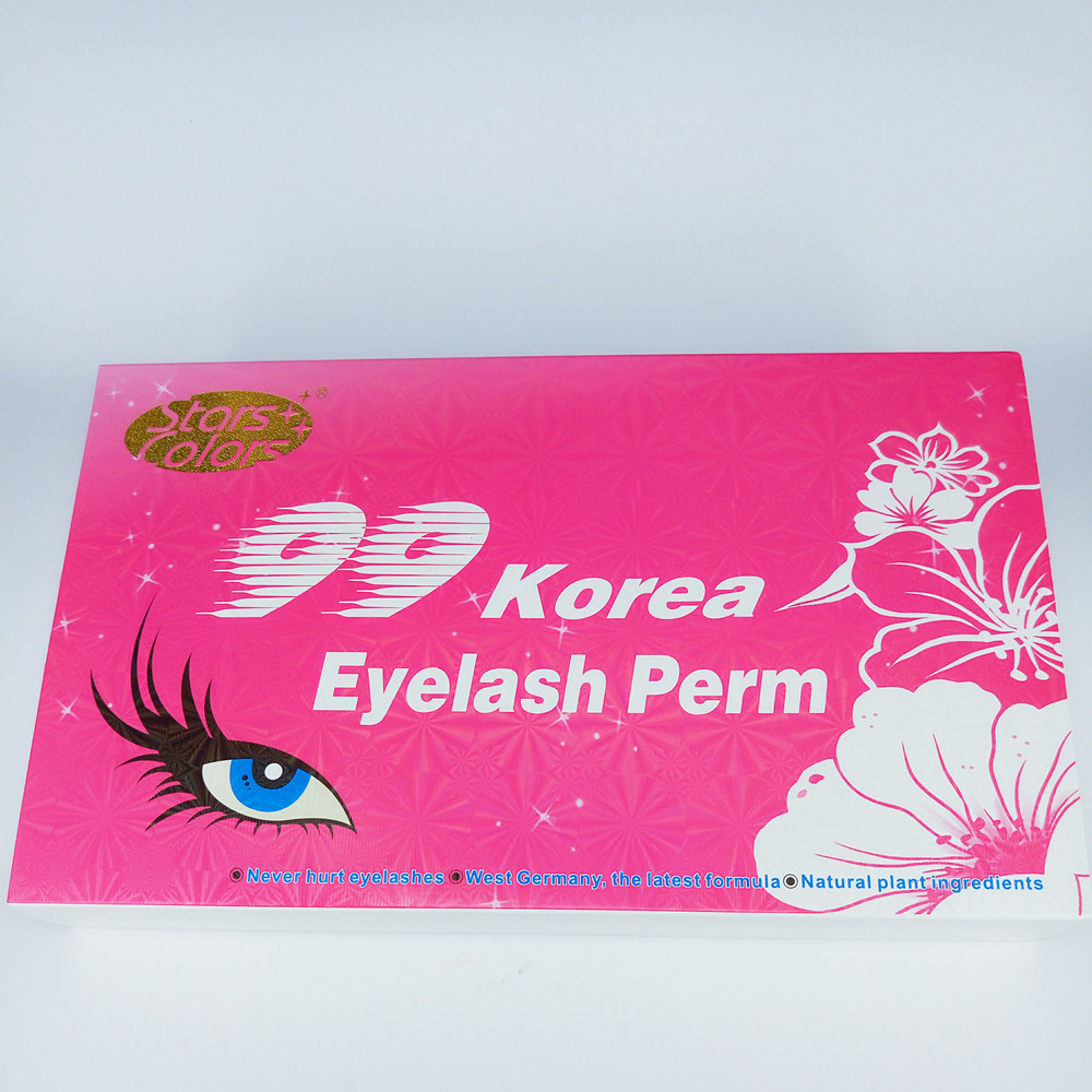 Starscolors Without simulation Eyelash Perm 3-4 Months Effect Eyelash Lifting Kit