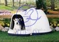 outdoor plastic dog house by rotomolding