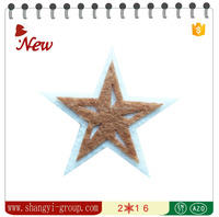 (XM4-49)Felt pentagram pendants personalized christmas ornaments