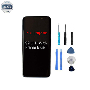 Original Oem Display Touch Screen Digitizer Assembly Replacement Fix Glass For Samsung Galaxy S9 Lcd Black