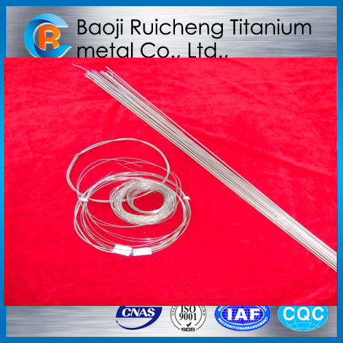 shape memory titanium nickle alloy wire for glasses frames