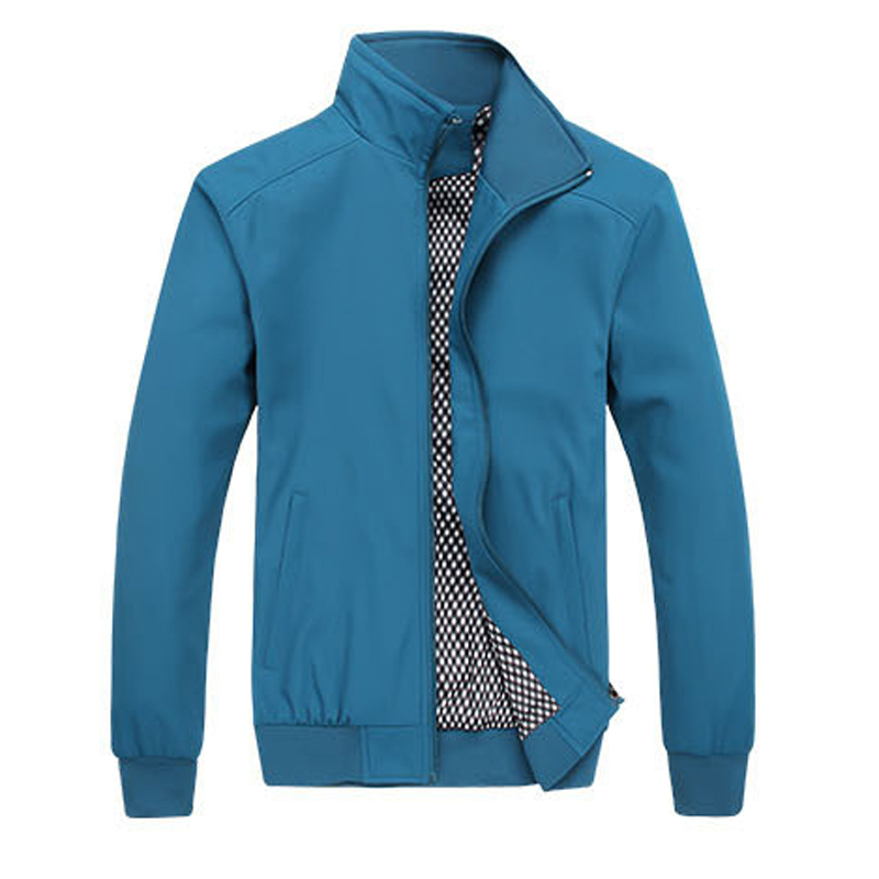 Hot sale men jackets M-5XL Plus size Sports fashion jackets Multiple colors Loose Stand collar outdoor jackets Comfortable