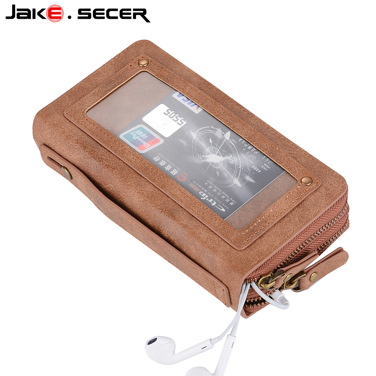 best iphone leather wallet case